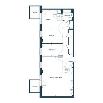 Indicative Floorplan At Telegraph Works
