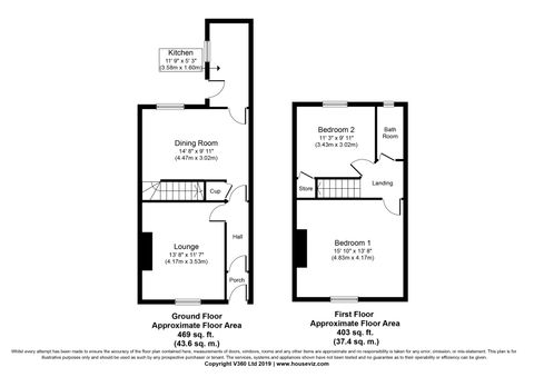 Floorplan- Spendmore Lane