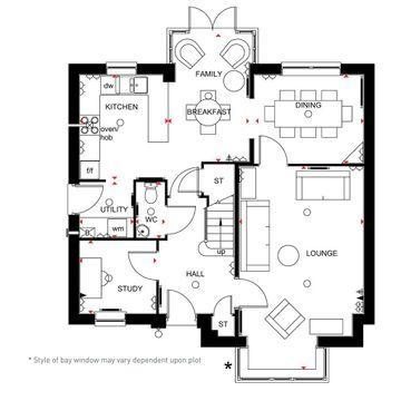 4 Bed Cambridge Home Ground Floor