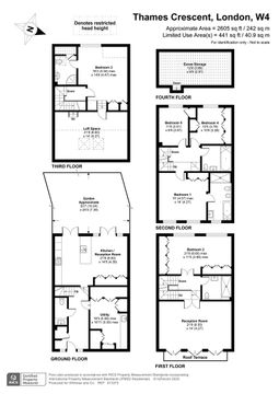 Thames Crescent, W4 - Floor Plan