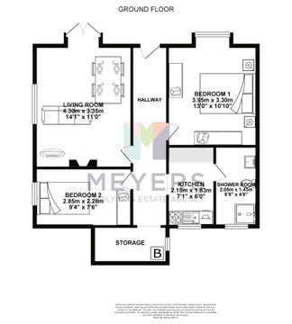 Black & White Floorplan