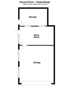Ground Floor - Outbuildings Plan