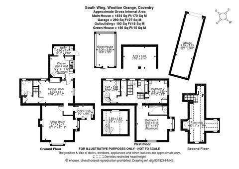 Floorplan- South Wing, Wootton Grange.Png