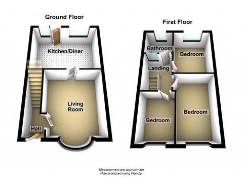 64B Victoria Road - 3D Floorplan1
