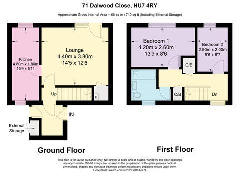Dalwood Close - Floorplan