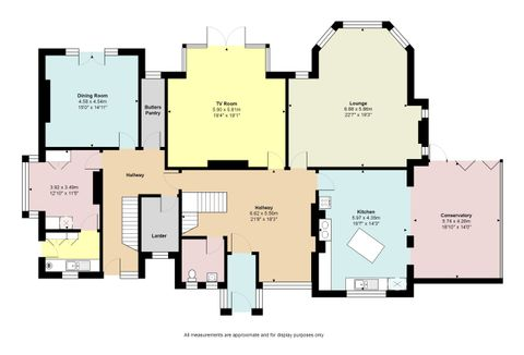 The Old Vicarage House_Ground Floor_Floorplan With