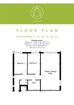 Statum Wootton Mount Floor Plan F4,10,16,22,28,34.