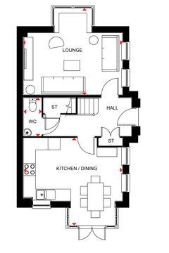 Hexham Ground Floor Plan