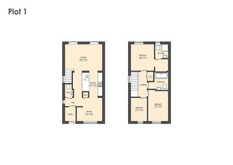 Plot 1 Floor Plan