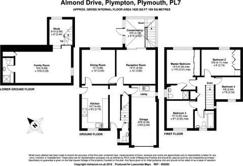 Almond Drive Floor Plan