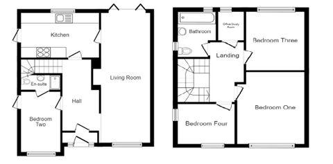 Ravensfield Floorplan