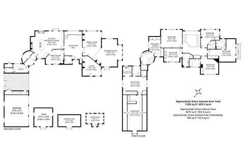 House. Estate Agency Cobham Oaklands Floor Plans