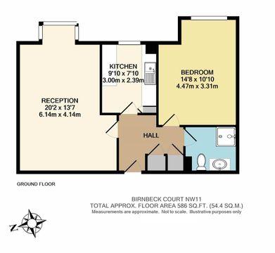 25 Birnbeck Court Nw11  Floorplan.Jpg