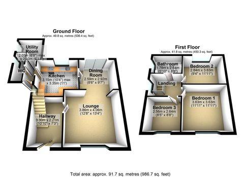 3D Floorplan 12 Fountains Road, Stretford.Jpg