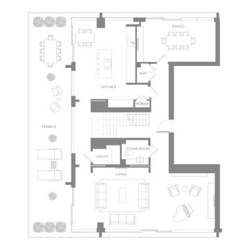 Floorplan Lower