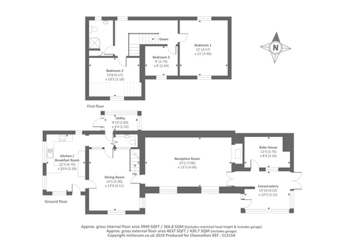 The Cottage Floor Plan