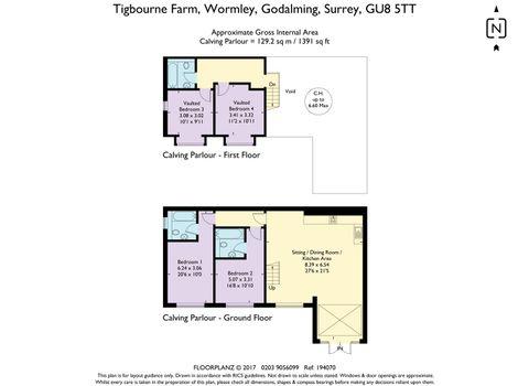 House. Estate Agency Wormley The Calving Barn Floo