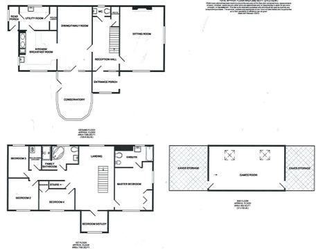 Floorplan - Black And White