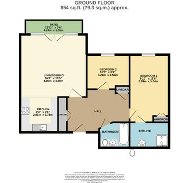 Floorplan - 7 Keble Court