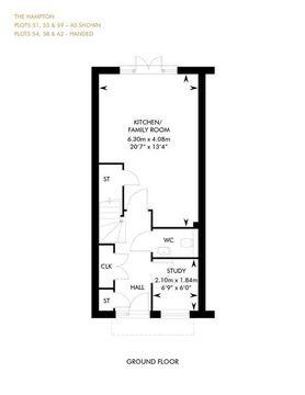 The Hampton, Ground Floor